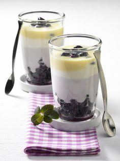 Heidelbeer-Joghurt-Becher Rezept