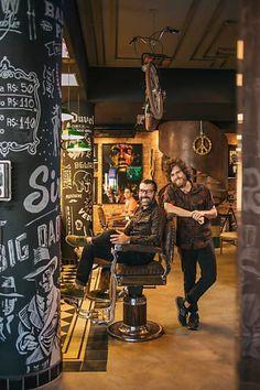 Com cervejas e jogos, barbearias são opção de presente para o Dia dos Pais