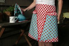 Love this blog all about great aprons.
