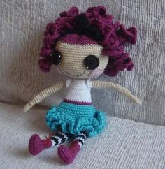 free doll pattern by just another doll