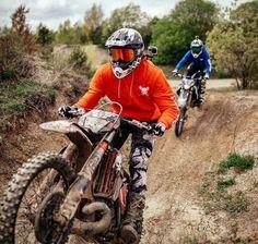 Off road and off track Motocross Enduro, Motocross Love, Enduro Motorcycle, Moto Bike, Mx Bikes, Sport Bikes, Dirt Bike Gear, Dirt Biking, Street Motorcycles