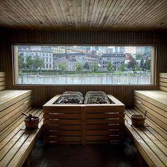 Sauna Sauna House, Sauna Room, Saunas, Piscina Spa, Sauna Design, Finnish Sauna, Arch Interior, Steam Room, Wellness Spa