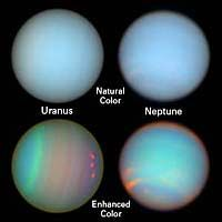 The Colorful Lives of the Outer Planets - Atmospheric features on Uranus and Neptune Astronomy Facts, Space And Astronomy, Hubble Space Telescope, Nasa, Aurora, Ice Giant, Medieval Tower, Exploration, University Of Arizona