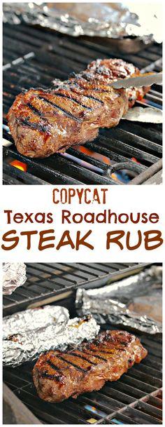 Copycat Texas Roadhouse Steak Rub Recipe                                                                                                                                                     More