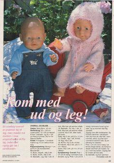 View album on Yandex. Knitted Doll Patterns, Knitted Dolls, Knitting Dolls Clothes, Doll Clothes Patterns, Knit Crochet, Crochet Hats, Bear Doll, Baby Born, Reborn Dolls