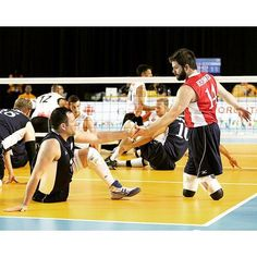 Volleyball is for everyone. ... Congratulations to our U.S. Men's Sitting Team for qualifying for the 2016 Paralympic Games. by #usavolleyball http://ift.tt/1LzSi7i