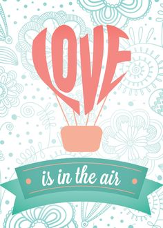 Free Love Is In The Air Printable