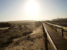 Ovar - Aveiro - Portugal.  The beach in a December morning.