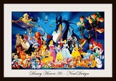 Disney Heroes 36  cross stitch pattern  PDF pattern