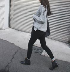 843377ca1014 sweater tuck. crop jeans with sock peeking out. Womens Chelsea Boots