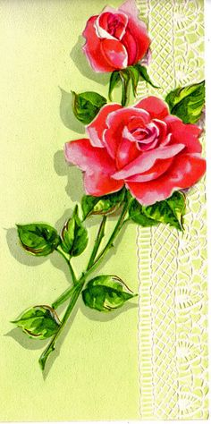 roses and lace by raidensgrammie21, via Flickr