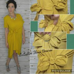 Style Tip Tuesday Carly is an amazingly versatile dress. Make a cute bow to change up the look! https://www.facebook.com/groups/lularoeilanadesiree