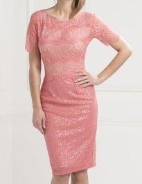 Body Frock Melanie Dress in Watermelon Pink was £230 NOW £150
