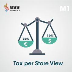 Magento Tax per Store View extension helps store owners to charge customers different taxes of a product in each store view.  #magento #extension #ecommerce #tax #module #business #online