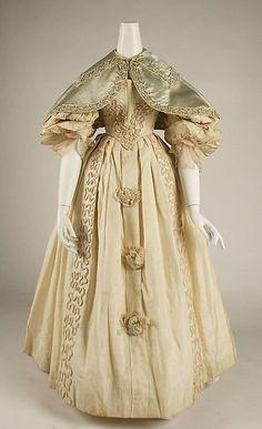 Date: ca. 1832 Culture: British Medium: silk Dimensions: Length (a): 44 1/2 in. (113 cm) Length (d): 11 1/2 in. (29.2 cm)