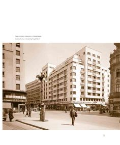 Calea Victoriei in perioada interbelica Bucharest Romania, Victoria, Communism, Dan, Louvre, Building, Travel, Viajes, Buildings