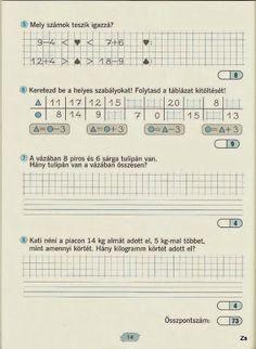 Albumarchívum - Matek felmérő mozaik A4 Paper, Paper Decorations, Mathematics, Worksheets, Periodic Table, Sheet Music, Archive, Album, Teaching
