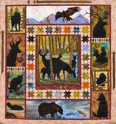 From the Wild Quilt Pattern by Log Cabin Quiltworks