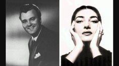 """NICOLAI GEDDA & MARIA CALLAS """"Viene la sera"""" Madama Butterfly (Puccini)"""