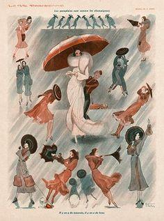La Vie Parisienne.  Art by Armand Vallee  http://www.pinterest.com/adisavoiaditrev/
