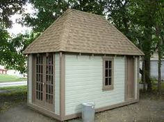 Image result for garden sheds with hip roofs