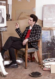 thelittlefreakazoidthatcould: Josh OConnor photographed by Jasper Abels for Marie Claire UK 2018 Beautiful Boys, Beautiful People, Callum Turner, Emma Woodhouse, Preppy Boys, 1960s Fashion, Celebs, Celebrities, Hot Guys