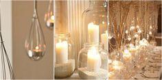 La luz de las velas aporta ambientes acogedores y llenos de magia... Vamos a disfrutar de estas 21 imágenes.