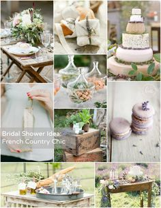 Bridal Shower Theme: French Country Chic