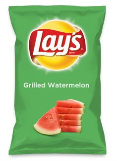 Wouldn't Grilled Watermelon be yummy as a chip? Lay's Do Us A Flavor is back, and the search is on for the yummiest flavor idea. Create a flavor, choose a chip and you could win $1 million! https://www.dousaflavor.com See Rules.