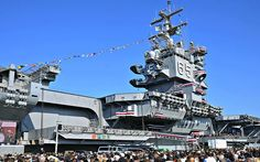 Uss Enterprise Cvn 65, Star Trek Enterprise, Star Trek Voyager, Us Navy Aircraft, Navy Aircraft Carrier, Tiger Cruise, Naval Station Norfolk, Subic Bay, World Cruise