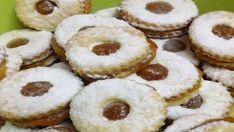 Lehké vánoční linecké cukroví s báječnou domácí marmeládou!