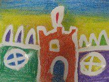 Místo pro život - didaktický portál | Malba klovatinou