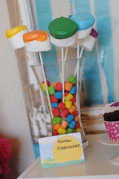 Rainbow April Showers | CatchMyParty.com