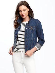 1eece1c6dad Denim Jacket. Inexpensive and cute. Similar ones at Talbots