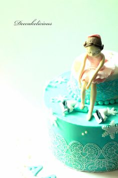 Ice Skater! - Cake by Deepa Shiva