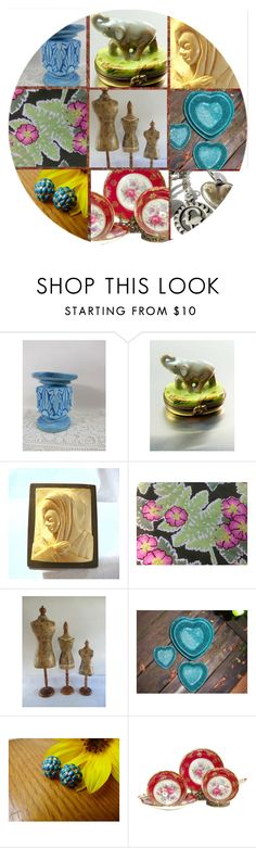 """""""Great Vintage Finds"""" by rescuedofferings ❤ liked on Polyvore featuring interior, interiors, interior design, home, home decor, interior decorating, Moreau, vintage, integrityTT and EtsySpecialT"""