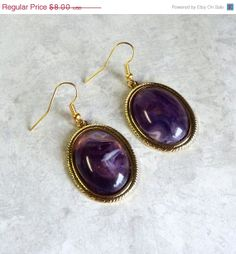 BIG SALE Earrings Gold and Bold Statement by TAKUniqueDesigns, $6.40