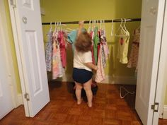 Our Montessori Closet and the Importance of Order