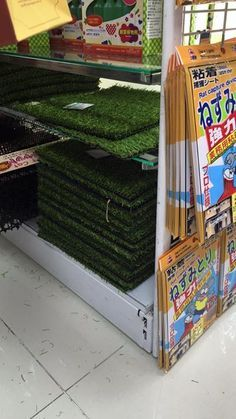 Artificial grass from Daiso!