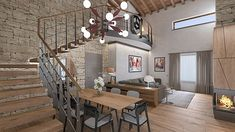 STUDIO SAGITAIR | Architettura - Interior Design - Render - Progetto Design Hotel, E Design, Interior Design, Conference Room, Studio, Table, Shop, Furniture, Home Decor