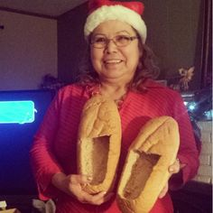 """Give someone a nice pair of """"loaf-ers."""" 