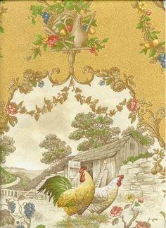 "Country Fair Curry $14.95@ Housefabric  100 Cotton 9""H V 25"""