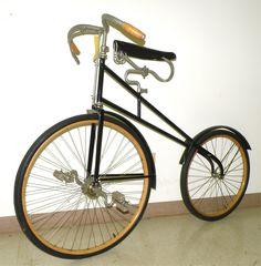 crianças 3 a 6 Anos Meninas Vintage Penny Farthing Criança Bicicleta de Equilíbrio-Meninos