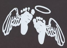 baby feet with wings...with more detailed wings this could be perfect