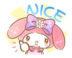 LINE Official Stickers - My Melody: Absolutely Adorable Example with GIF Animation Keroppi Wallpaper, Cute Emoji Wallpaper, Hello Kitty Wallpaper, My Melody Wallpaper, Hello Kitty My Melody, Emoji Symbols, Hello Kitty Pictures, Gifs, Little Twin Stars