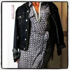 Wrap dress #DVF #icon #fashion #dress #outfit