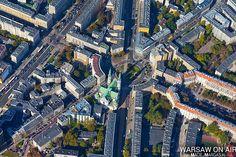 Fotograf Maciej Margas Warsaw on Air Gliders, Warsaw, City Photo, Ink, Ink Art