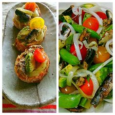 酸味や甘味が違う色んな色の宝石のようなトマト!!ほんとに美味しいです(*^^*) - 35件のもぐもぐ - 宝石トマトと和風オイルサーディンの春野菜サラダ by satoht