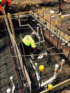 Natural Pools - Pool Plumbing - Pool Progress - Swimming Pool - Pool Construction - Melbourne Pools