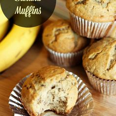 Banana Lovers' Banana Muffin Recipe (or Banana Bread)